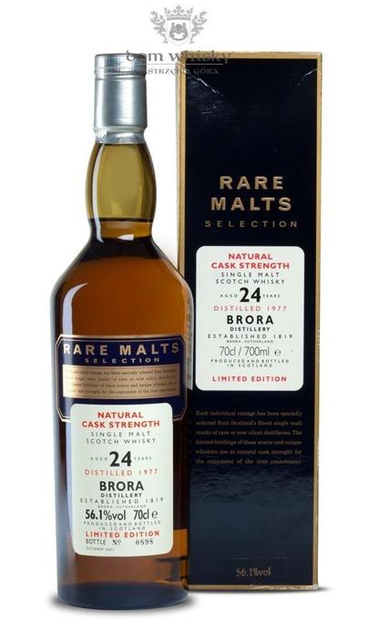 Brora 24-letnia (D.1977, B.2001) Rare Malts / 56,1% / 0,7l